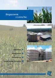 Biogazownie z LimnoTec