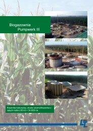 Biogazownia Pumpwerk III - LimnoTec