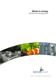 Waste to energy - Stoffstrommanagement - STULZ H+E Group