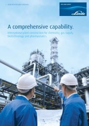 A comprehensive capability. - Linde Engineering Dresden GmbH