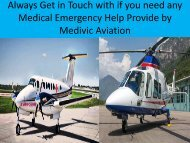 Always Get in Touch with if you need any Medical Emergency Help Provide