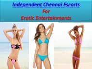 Fun with Independent Chennai Escorts