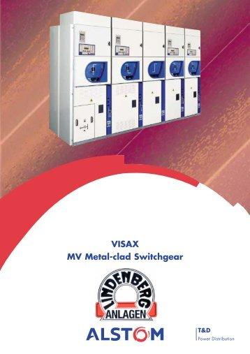 VISAX MV Metal-clad Switchgear -  Lindenberg-Anlagen GmbH