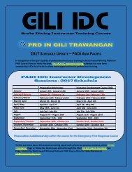 PADI IDC Indonesia Updated by PADI Asia Pacific 2017