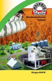 Biogas-BHKW Blockheizkraftwerke Weltweit - Lindenberg-Anlagen ...