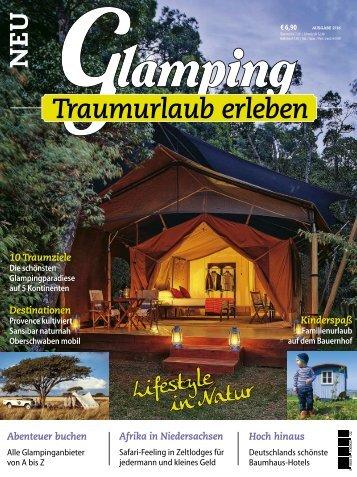 Glamping- Ausgabe 0216