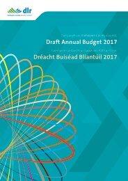 Dréacht Buiséad Bliantúil 2017