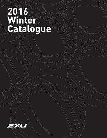 2XU WINTER 2016-2017 (Katalog)