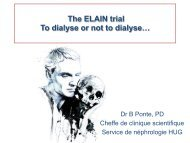 The ELAIN trial  To dialyse or not to dialyse…