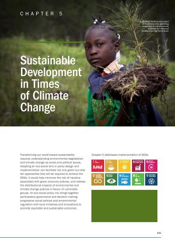Sustainable Development in Times of Climate Change