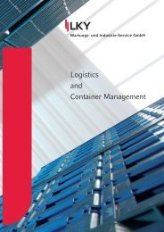 Logistics and Container Management - LKY Wartungs