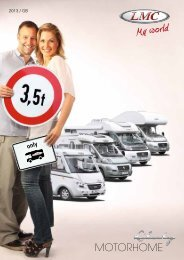 MotorhoMe - LMC Caravan