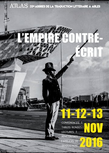 L'EMPIRE CONTRE- ÉCRIT 11-12-13 NOV 2016