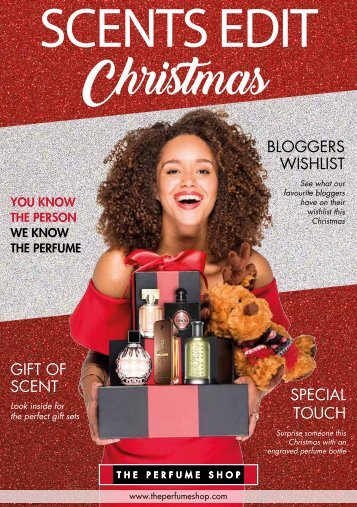 The Perfume Shop Christmas Brochure