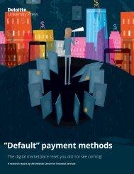 """Default"" payment methods"
