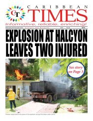 Caribbean Times 32nd Issue - Wednesday 9th November 2016