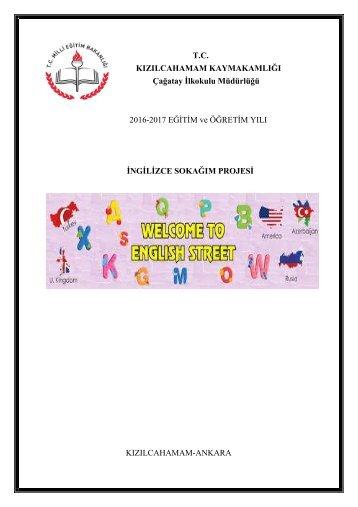 ingilizce sokağı proje kitapçığı