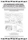 LES BARRAGES AFRICAINS LES FLEUVES ET VOS DROITS - Page 2