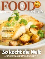 entdecken · erleben IV/2011 - FOOD and friends