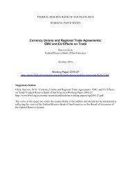 Currency Unions and Regional Trade Agreements EMU and EU Effects on Trade