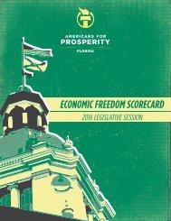 ECONOMIC FREEDOM SCORECARD