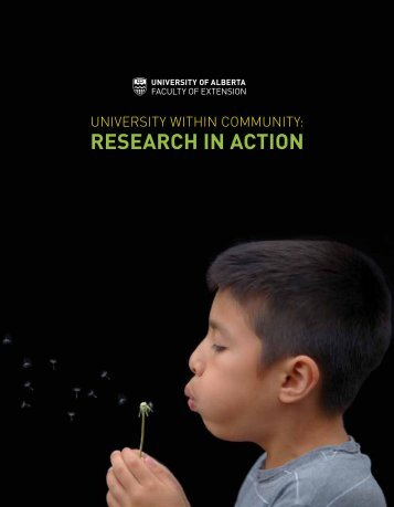 Community Report: Research in Action 2015