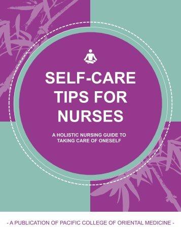 SELF-CARE TIPS FOR NURSES