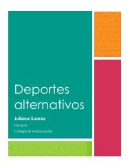 Deportes alternativos - Revista