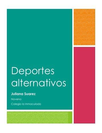 Deportes alternativos - Revista
