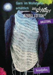 Anleitung BOBBEL Cotton Woolly Hugs Tuch Musterwellen