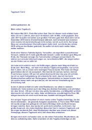 Tagebuch Teil 2, PDF - Brustkrebs Tagebuch