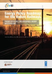 Energy Policy Roadmap for the Indian Railways
