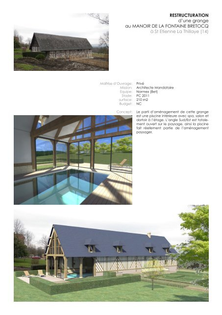 47°Nord Architectes book 2016
