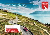 STC Swiss Coupon Pass 2017 Englisch