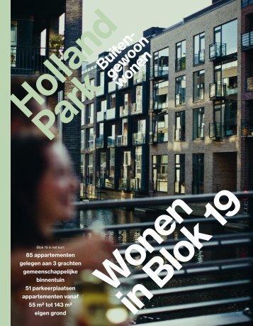 Holland Park - Brochure Blok 19