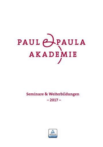 Paul und Paul Akademie 2017