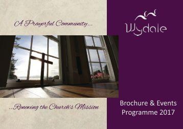 Wydale Hall Programme 2017