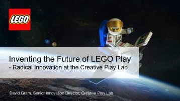 Inventing the Future of LEGO Play