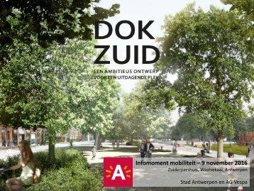 Presentatie infoavond mobiliteit Gedempte Zuiderdokken