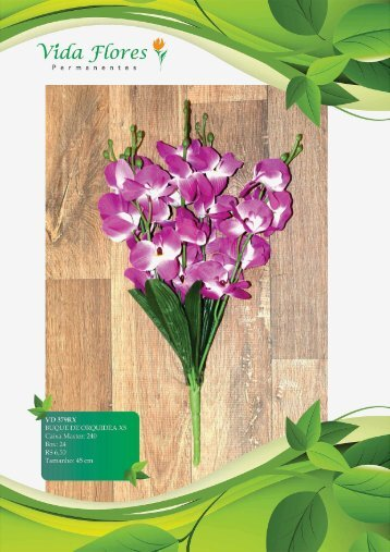 Orquideas - Vida Flores Permanentes