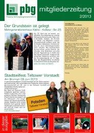 Ausgabe 2013 / 2