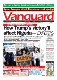How Trump's victory'll affect Nigeria— EXPERTS