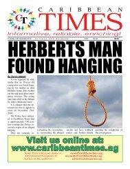 Caribbean Times 33rd Issue - Thursday 10th November 2016