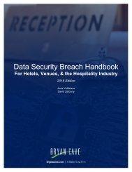 Data Security Breach Handbook
