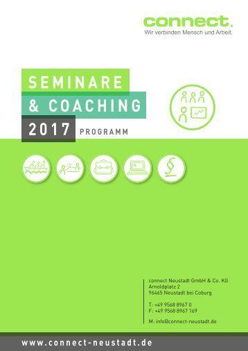 connect. - Seminarprogramm 2017