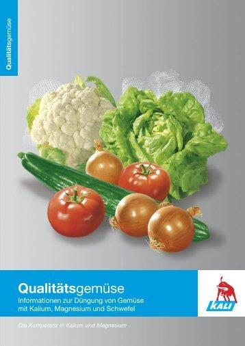 Gemüse Broschüre deutsch - K+S KALI GmbH
