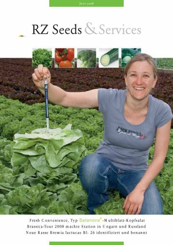 Fresh Convenience, Typ -Multiblatt-Kopfsalat Brassica ... - Rijk Zwaan