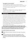 Philips Shaver series 3000 Rasoir électrique rasage à sec - Instructions avant utilisation - SWE - Page 5