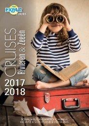 Brochure cruises rivieren & zeeën 2017