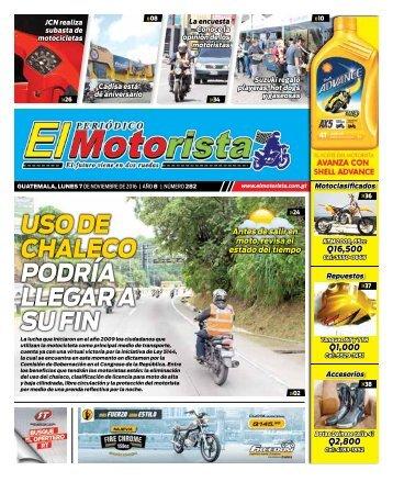 ELMOTORISTA Edicion 7 de Noviembre